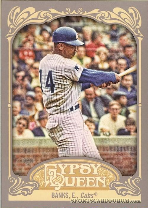 2012 Gypsy Queen #264 Ernie Banks