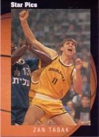 1991 Star Pics #14 Zan Tabak